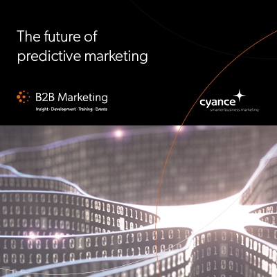 The future of predictive marketing