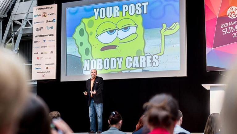 Top five content marketing influencers on social media Joe Pullizi
