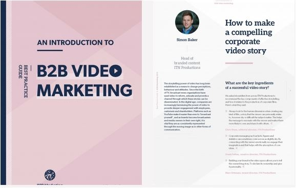 An introduction to B2B video marketing