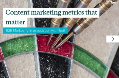 Content marketing metrics that matter