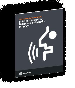 B2B Marketing Ambassador marketing guide US cover