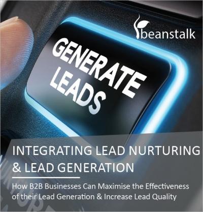 Beanstalk lead nurturing guide cover