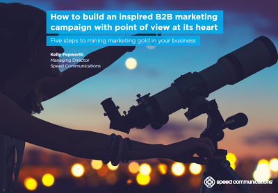 How to build an inspired B2B marketing campaign