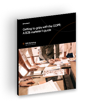 Getting to grips with GDPR: A B2B marketer's guide image
