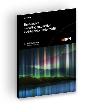 The Nordics marketing automation sophistication index 2018