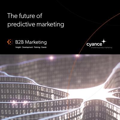 The future of predictive marketing