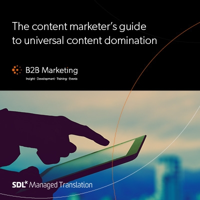 The content marketer's guide to universal content domination image