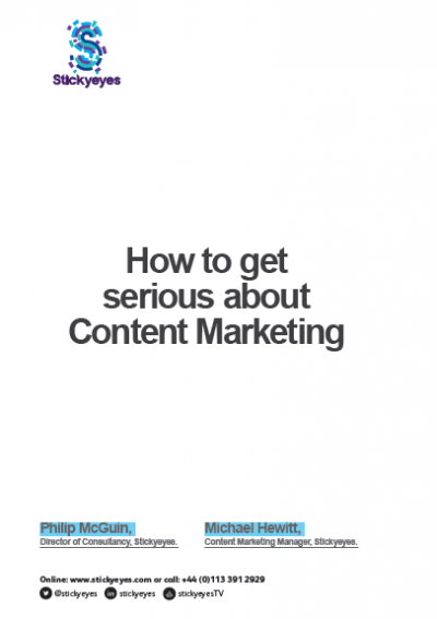 How to get serious about content marketing