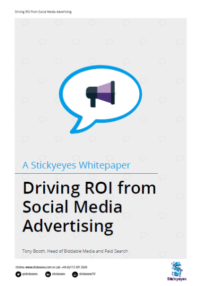 How to drive ROI from social media advertising