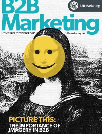 B2B Marketing Nov Dec issue cover