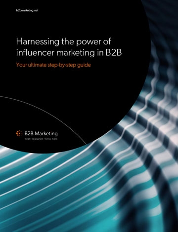 Influencer marketing guide cover page