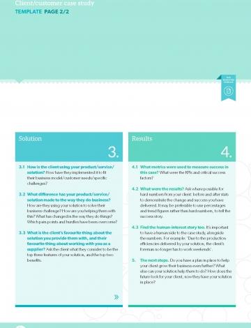 Template ClientCustomer Case Study  BB Marketing