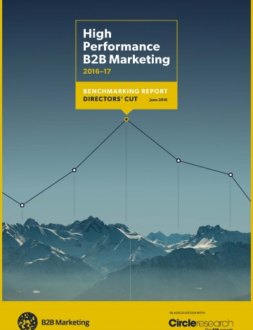 cover page for high performance directors cut