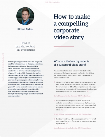 introduction to B2B video