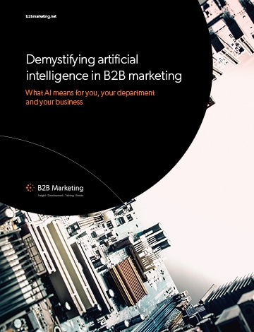 B2B marketing demystifying AI premium guide cover image