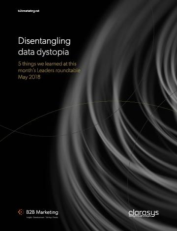 Disentangling data dystopia