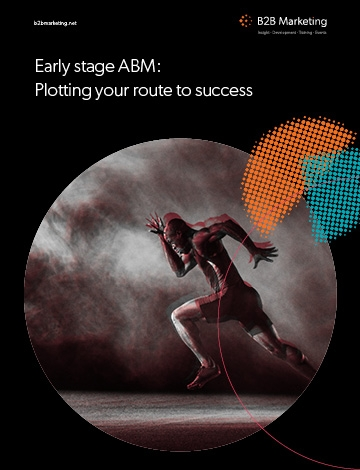 Early stage ABM: Plotting your route to success