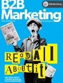 B2B Marketing July August cover