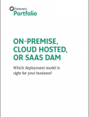 Choosing the right Digital Asset Management Solution: On-Premise, Cloud Hosted or SAAS DAM?