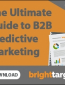 The ultimate guide to B2B predictive sales and marketing
