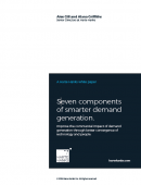 Seven components of smarter demand generation ROI