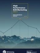 high performance b2b marketing benchmarking report
