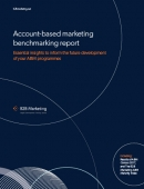 Account-based marketing benchmarking report image
