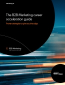 B2b marketing career acceleration guide cover