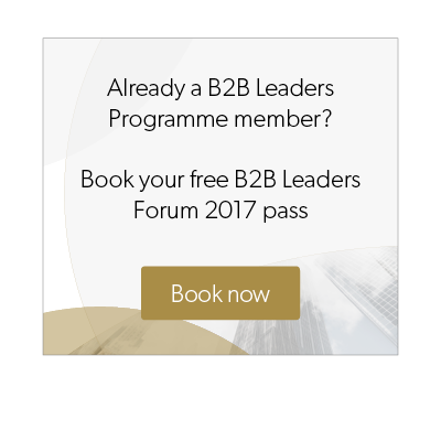 B2B Marketing leaders forum button
