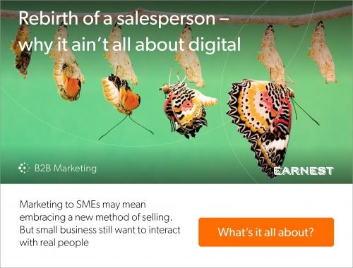 Think Small: I'm ignoring you   B2B Marketing