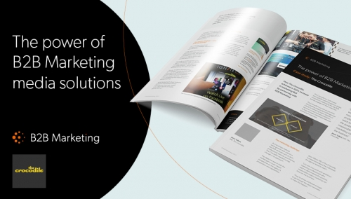 The Power of B2B Marketing media solutions - The crocodile