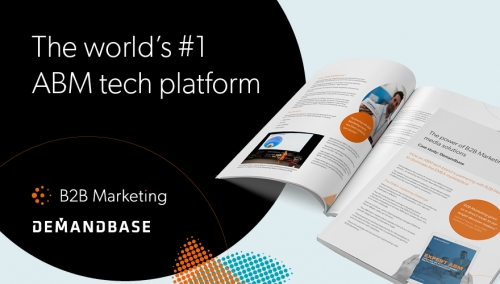 demandbase b2b marketing media case study