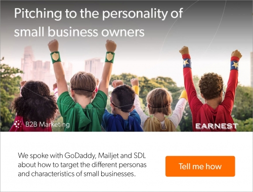 Pitching to the personality of an SME