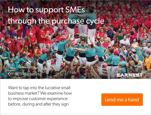 How to support SMEs through the purchase cycle