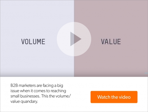 Think Small: The volume/value quandary