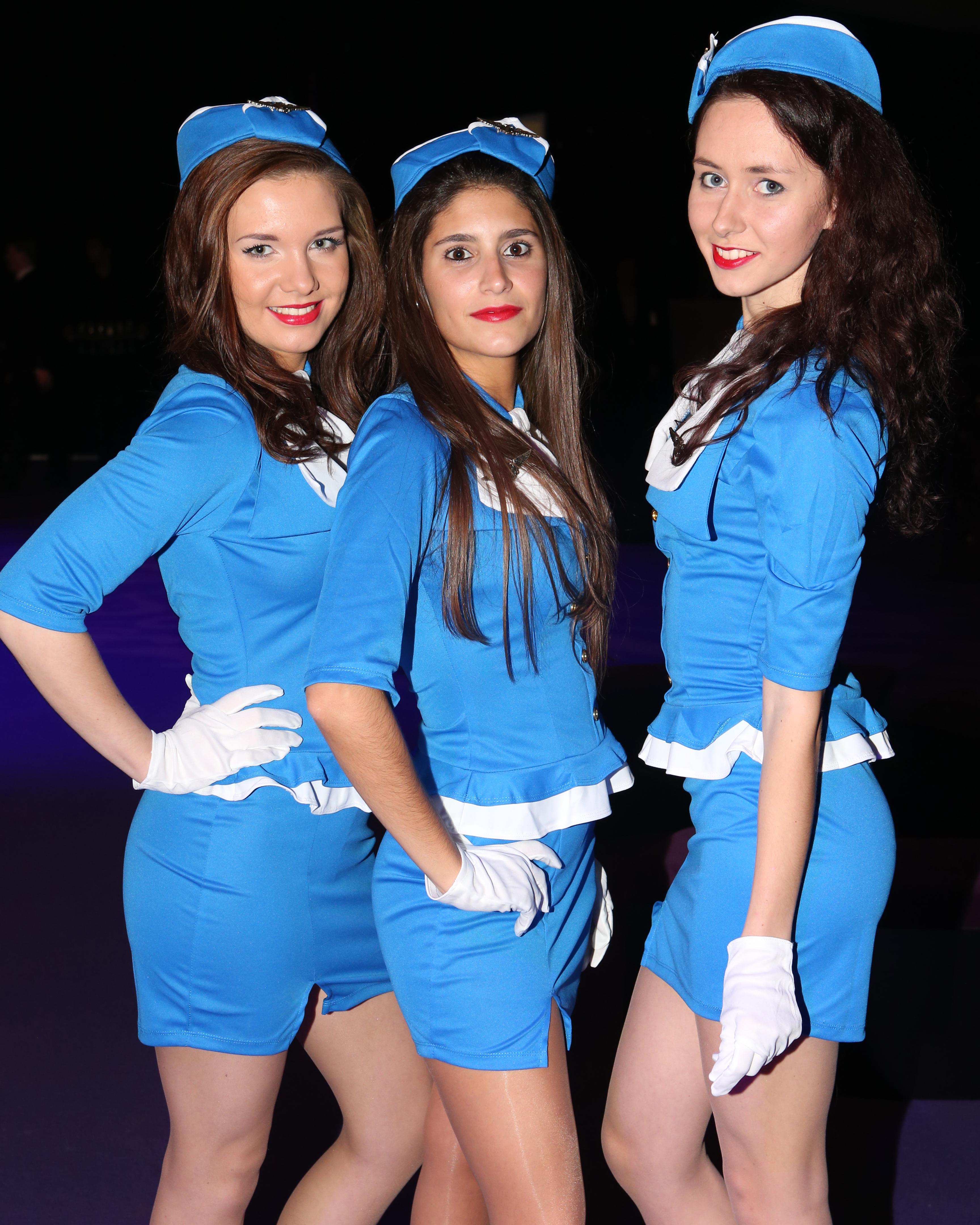 B2B Marketing air stewardesses